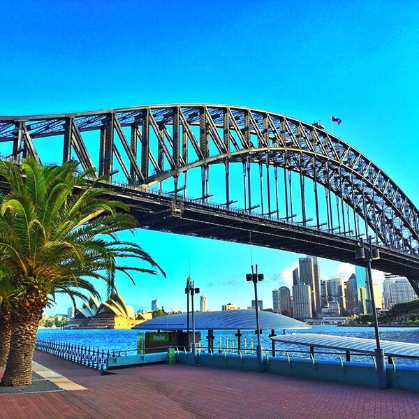 Sydney Harbour Bridge Сидней